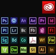 The Adobe Creative Clous toolset