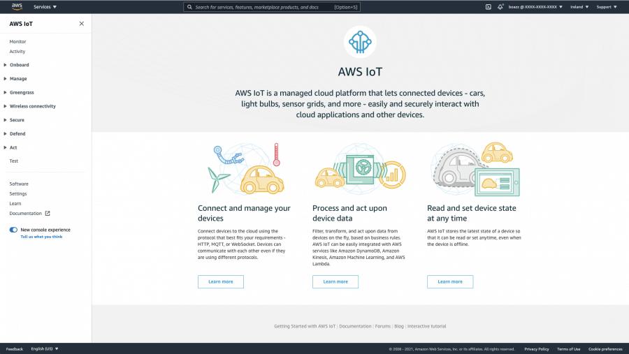 AWS IoT Core